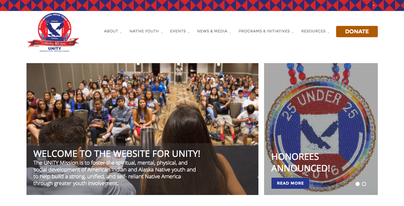 UNITY - WordPress design and development